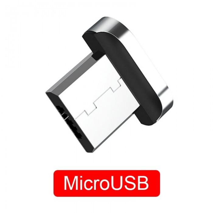 Коннектор для магнитного кабеля TOPK AM61, MicroUSB