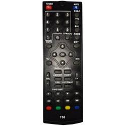 Пульт ДУ для тюнера DVB-T2 Satcom T500 (T56)