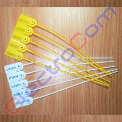 Универсальная номерная пластиковая пломба У-175, 175 мм, 1 уп. (100 шт)