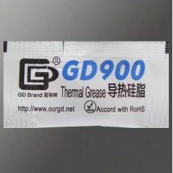 Термопаста GD900, серая, пакетик 0,5 г
