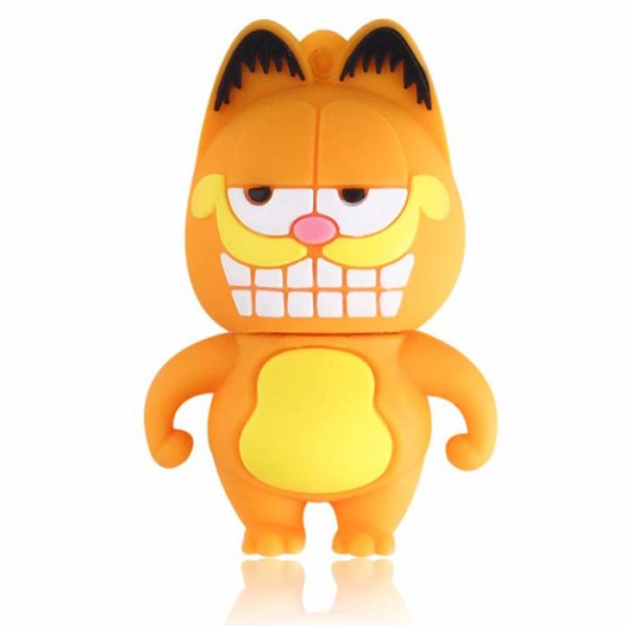 Флешка USB 8Gb ElectroCom Garfield (Гарфилд)