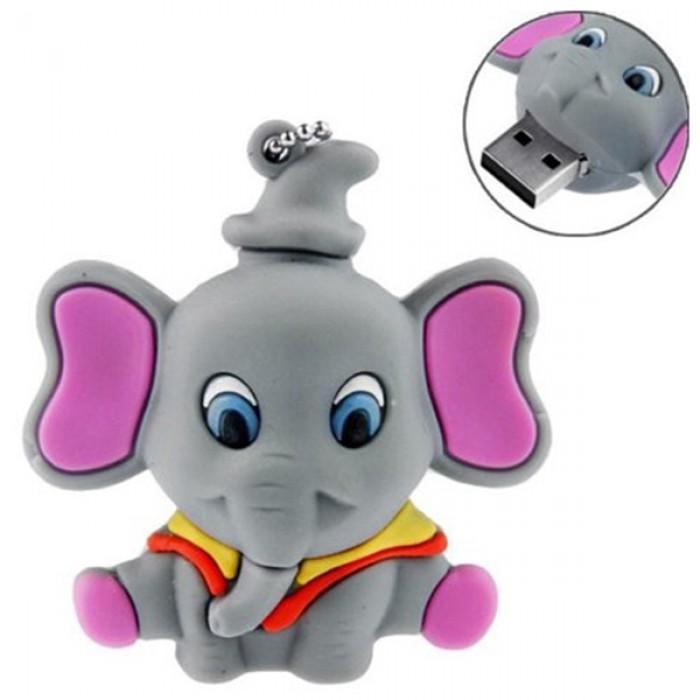 Флешка USB 8Gb ElectroCom Elephant (Слоник)