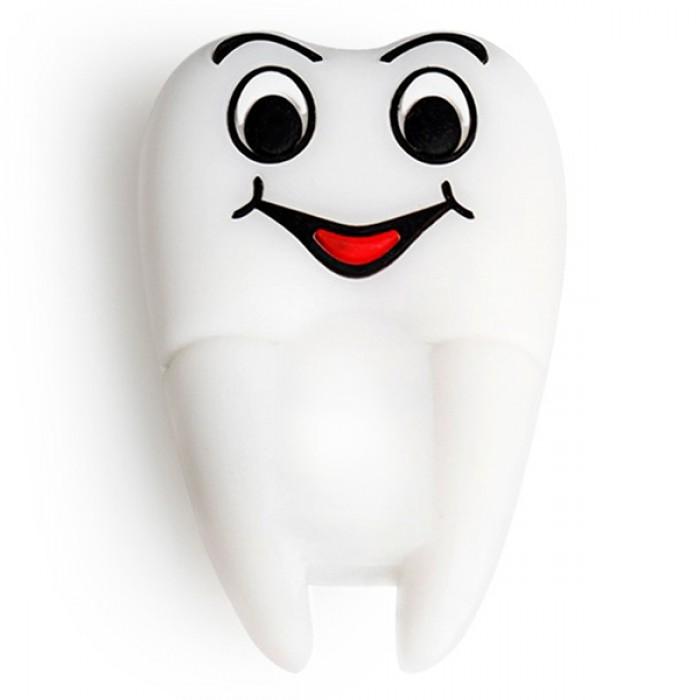 Флешка USB 8Gb ElectroCom White Tooth - Smile (Белый Зуб - Улыбка)