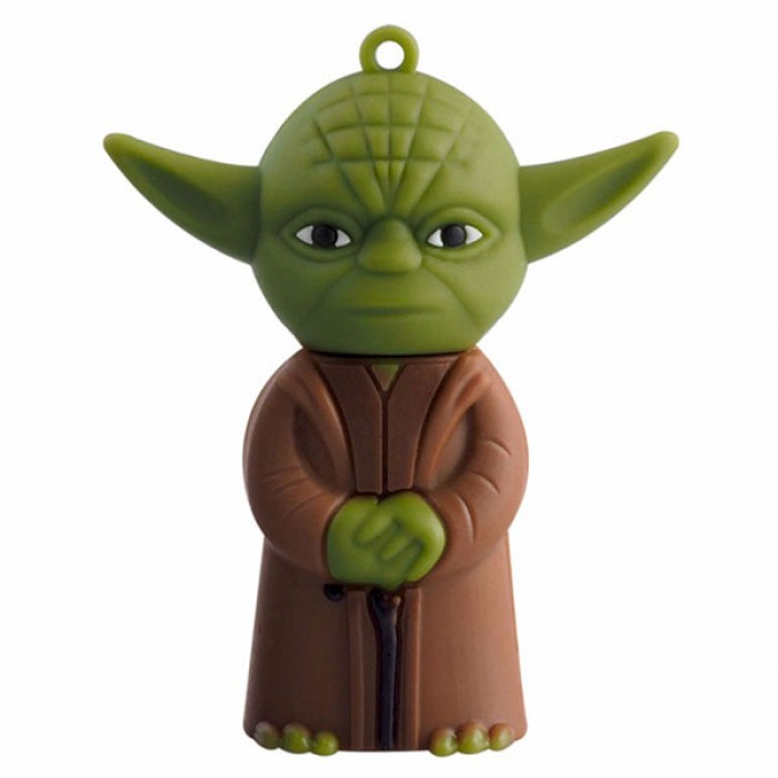 Флешка USB 8Gb ElectroCom Star Wars - Master Yoda (Звёздные Войны - Магистр Йода)