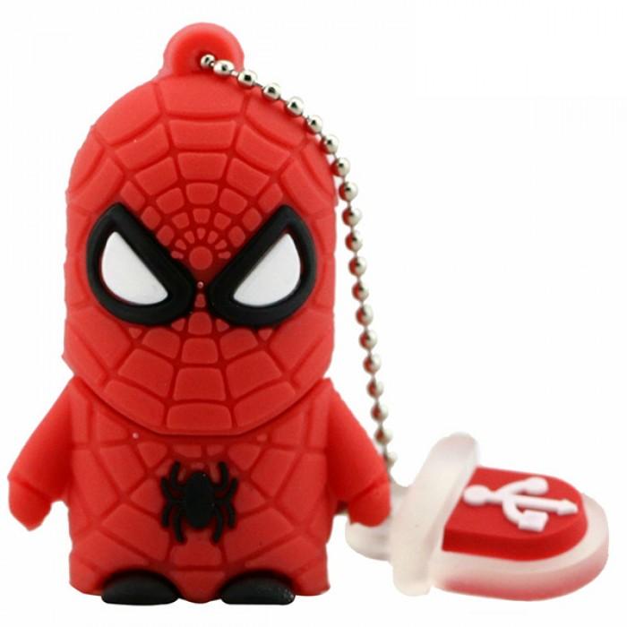 Флешка USB 8Gb ElectroCom Heroes - Spider-Men (Герои - Человек-Паук)