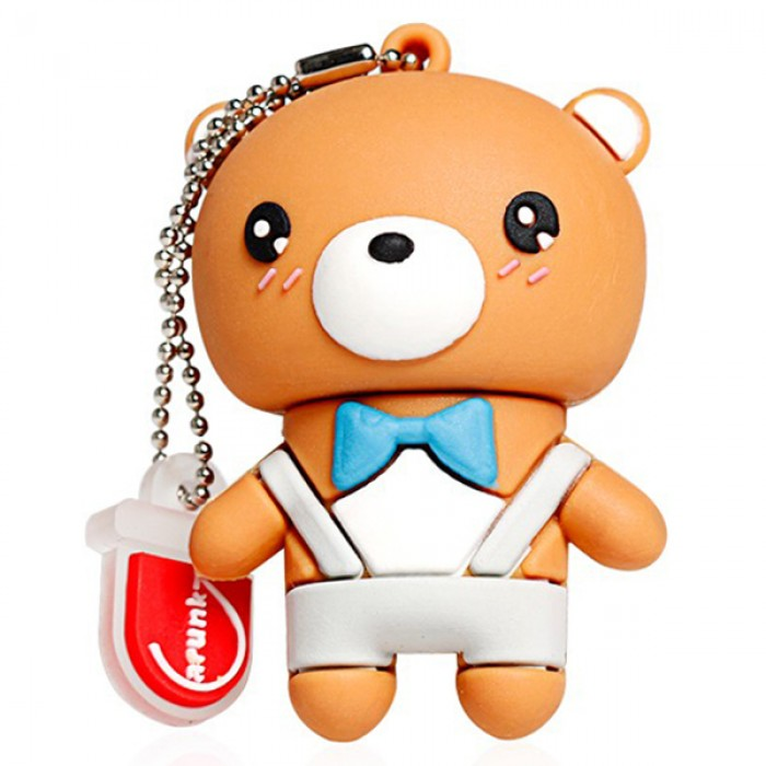 Флешка USB 8Gb ElectroCom Teddy Bear (Мишка Тедди)
