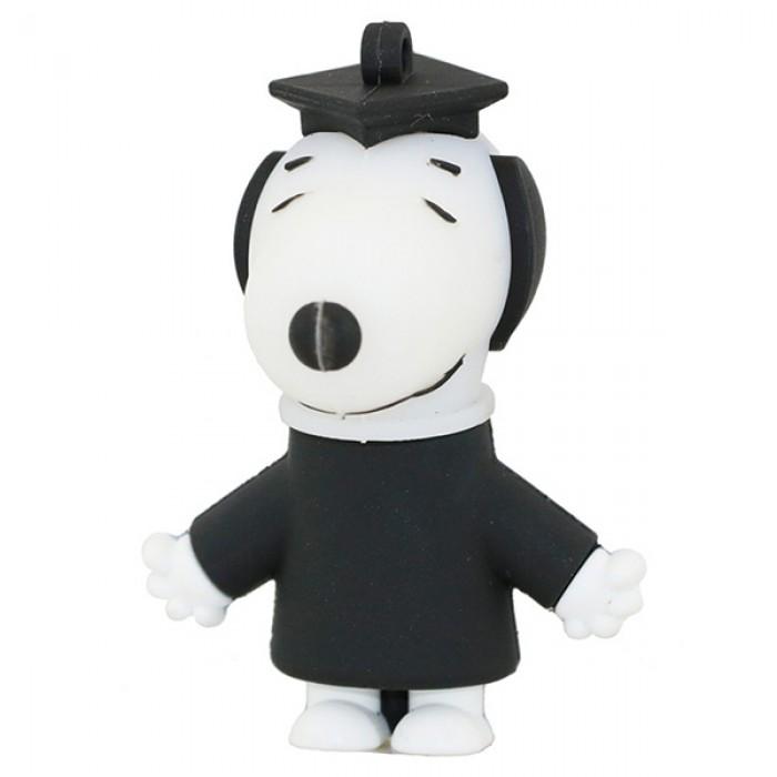 Флешка USB 8Gb ElectroCom Dog Snoopy, Master (Собака Снупи, Магистр)