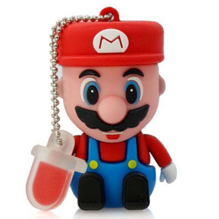 Флешка USB 8Gb ElectroCom Mario (Марио)