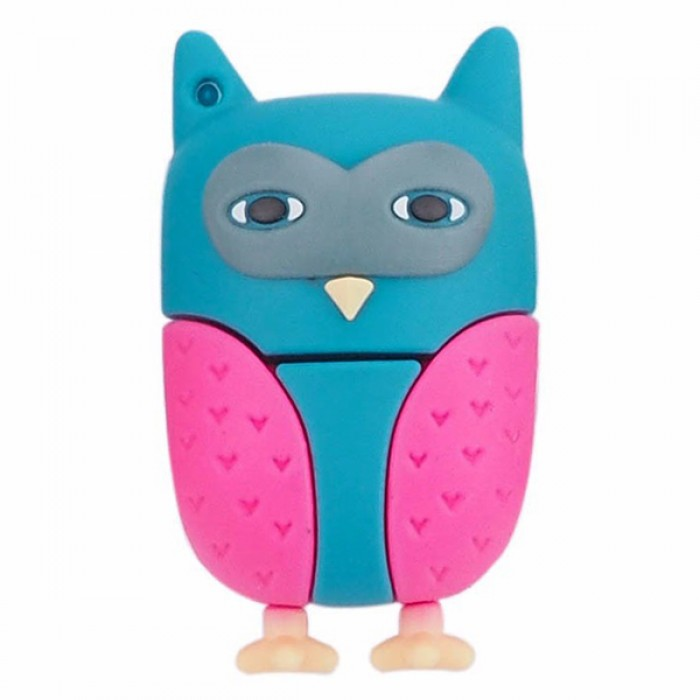 Флешка USB 8Gb ElectroCom Five Animals - Eagle-Owl (Филин)
