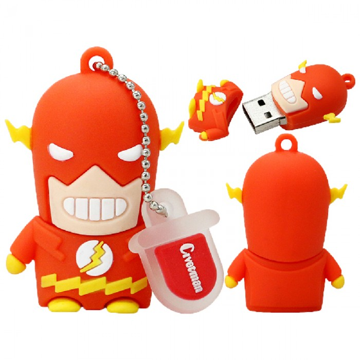 Флешка USB 8Gb ElectroCom Heroes - Flash (Герои - Флеш)
