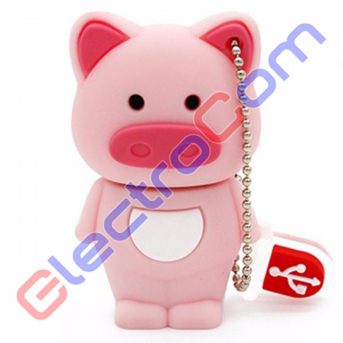 Флешка USB 8Gb ElectroCom Piggy (Свинка)